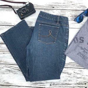 Ann Taylor LOFT Slim Boot Cut Jeans